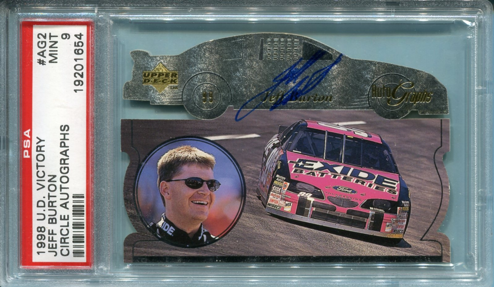 Misc Sports 1998 Upper Deck Victory Circle Autographs Racing