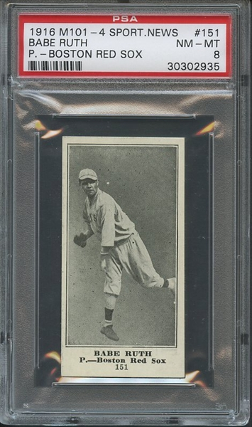 http://caimages.collectors.com/psaimages/1597/30302935/RUTH-BABE-1916-SPORTING-NEWS-M101-4-PSA-8-F.jpg