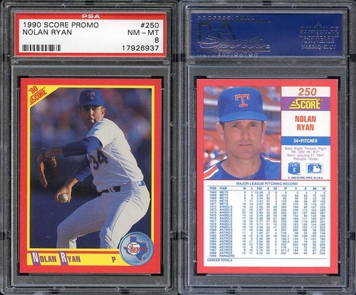1990 Score Baseball Promos Collectors Universe