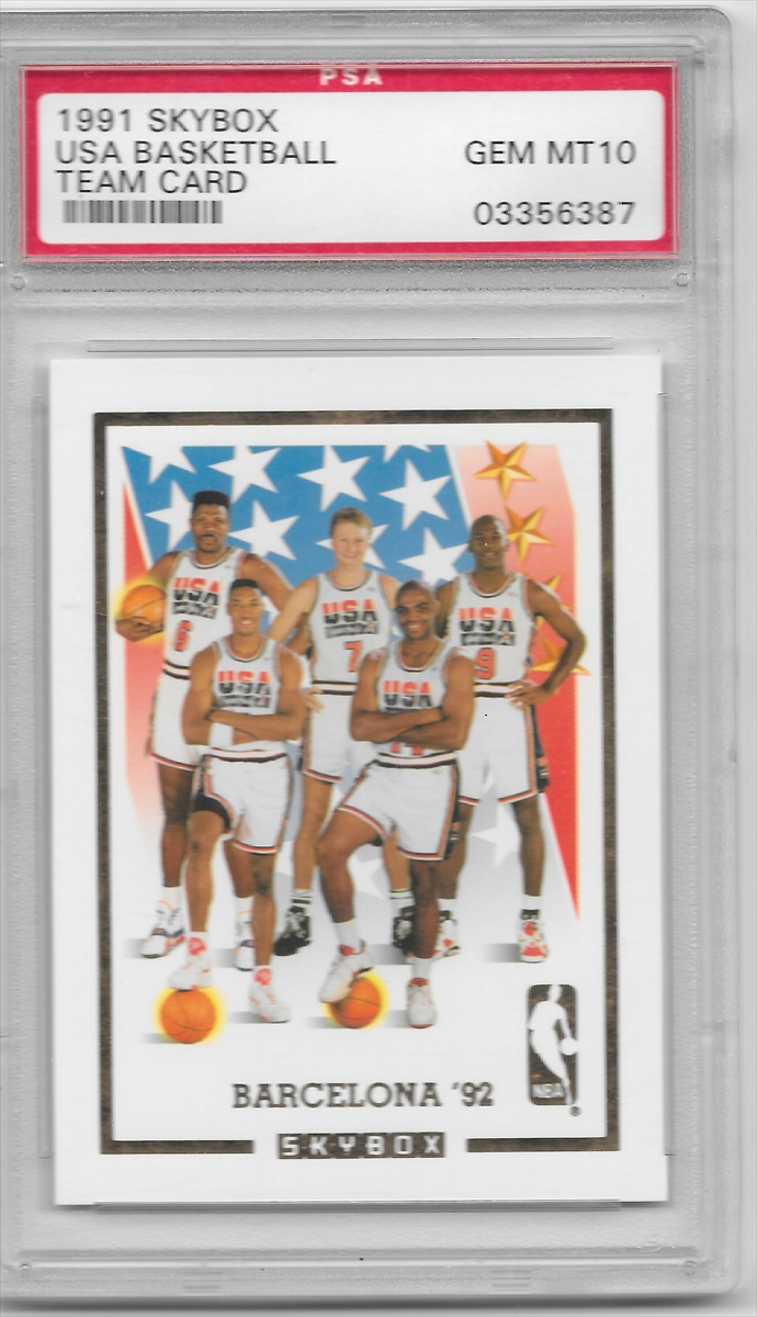 5269bfc23e9 PSA Set Registry Showcase: 1992 Olympic Dream Team