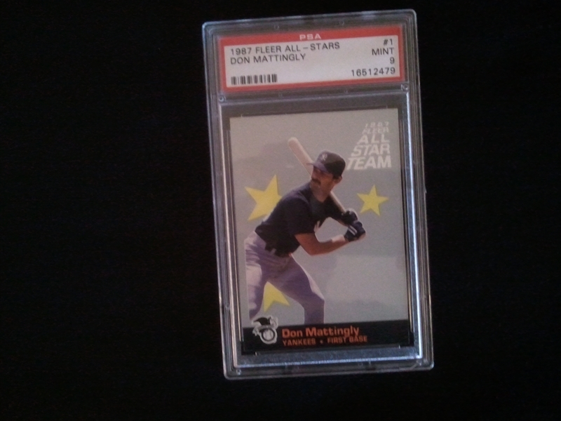Baseball Don Mattingly Master Set Iowamike44