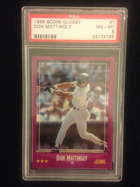 Baseball Don Mattingly Basic Amp Collector Issues Set