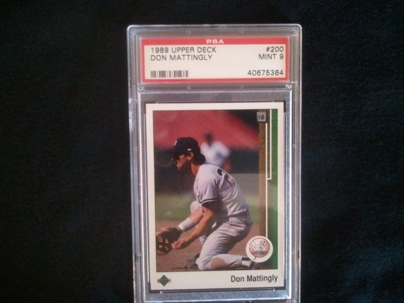 Published Set Baseball Don Mattingly Basic Set Iowamike44