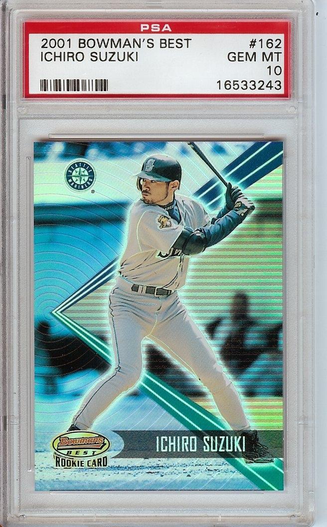 Baseball Ichiro Suzuki Rookie Set Mcholke Ichiro Suzuki