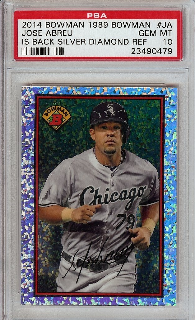 Psa Set Registry Showcase Jose Abreu Rookie Cards