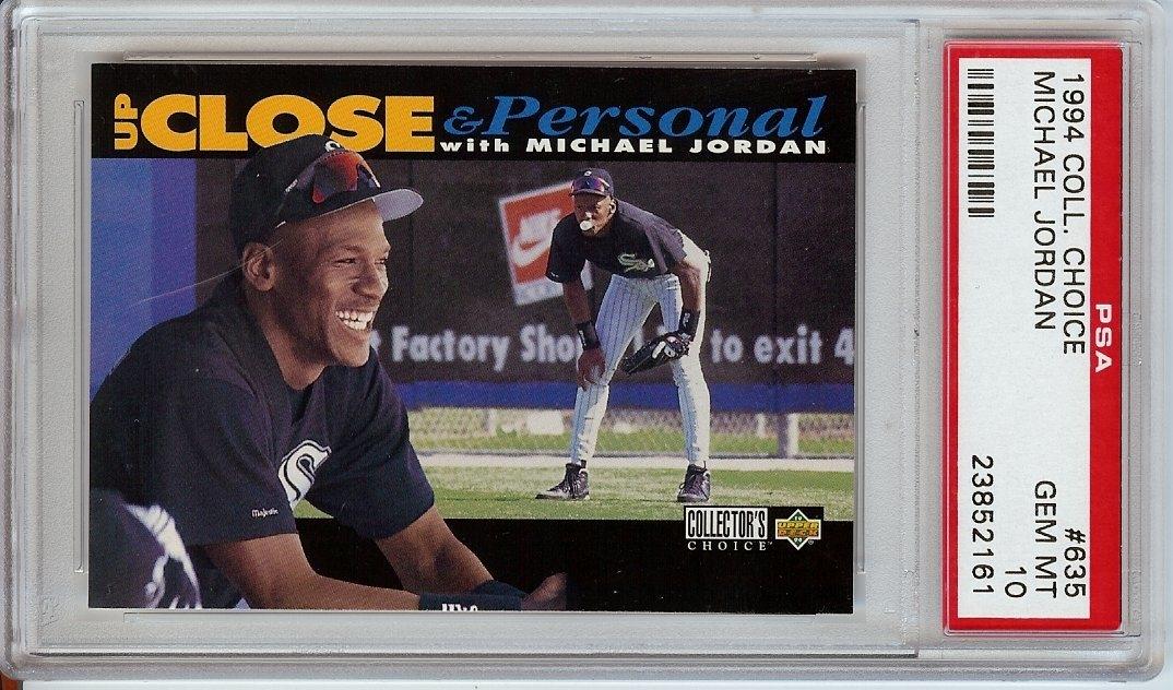 Psa Set Registry Showcase Michael Jordan Baseball Cards