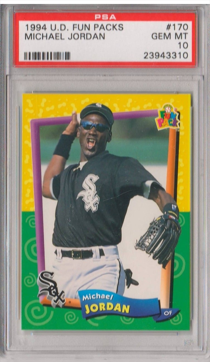 Michael Jordan Baseball Cards Showcase Image Gallery