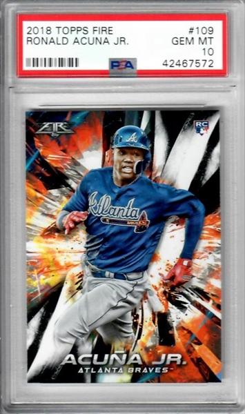 Baseball, Ronald Acuna Jr. Rookie Set All Time Set ...
