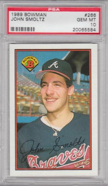 Baseball John Smoltz Rookie Set All Time Set Dhaar John