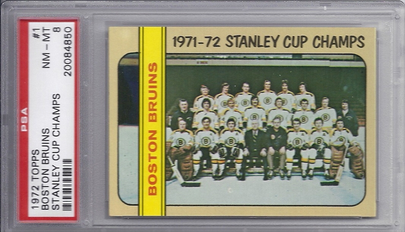 Published Set - Hockey 1972-73 Topps Boston Bruins: EJJIII ... Bruins Roster 1972