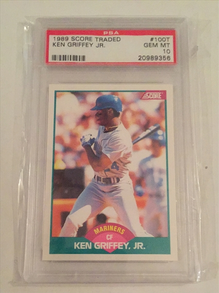 6f36a72c55 Baseball, Ken Griffey Jr. Master Set Published Set: THEMURPH398