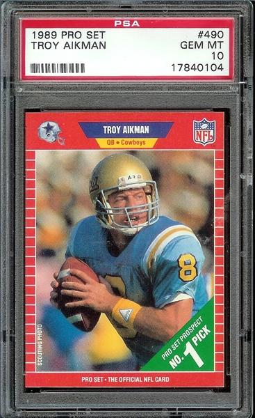 4d2de4219b2 Football, Troy Aikman Master Set All Time Set: Aikman Master