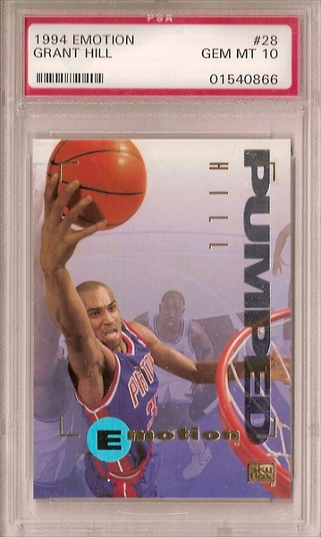 Basketball Grant Hill Rookie Set All Time Set Cj Cardboard