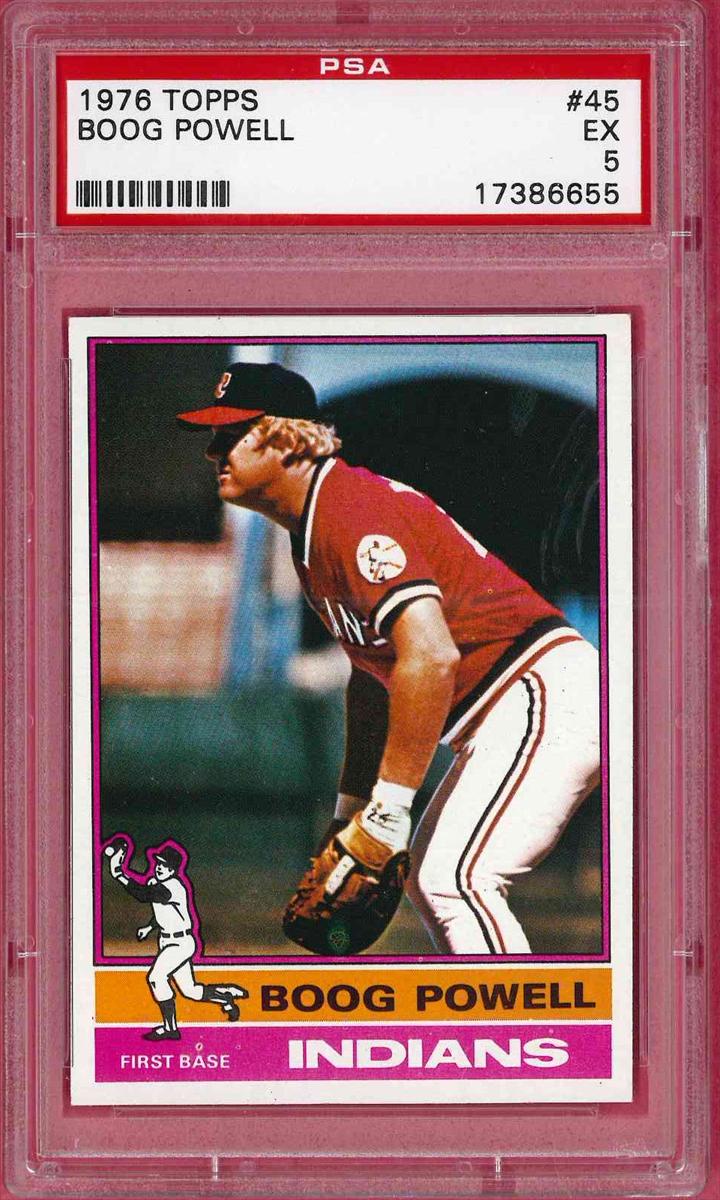 pretty nice 29044 cb3c8 Baseball - 1976 Topps Cleveland Indians: gabr611 Set Image ...