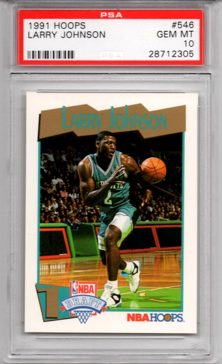 Basketball Larry Johnson Rookie Set Addisons Lj Rc Set Set Image