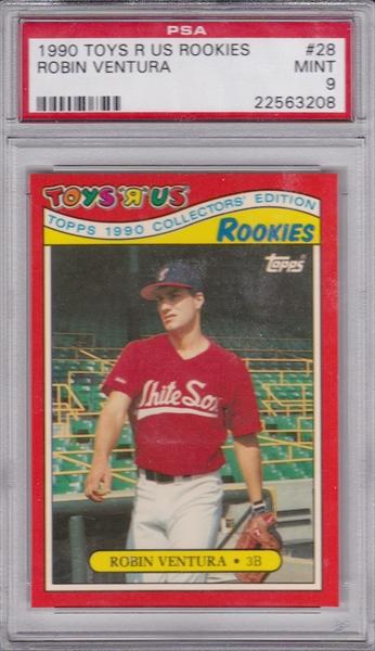 Baseball Robin Ventura Master Set Published Set Johns