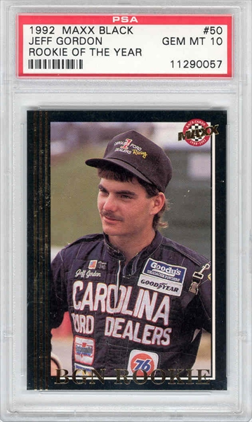 Misc Sports Jeff Gordon Master Set Racing All Time Set