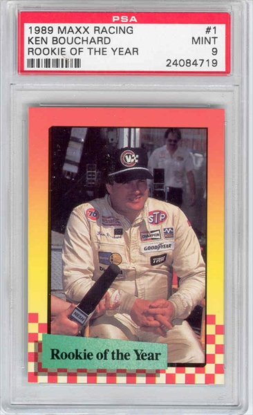 1989 Maxx Racing #91 Norman Koshimizu Rookie Card Auto Racing Cards Sports Trading Cards