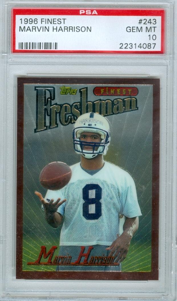 Football Marvin Harrison Rookie Set Jfuhrman14 Set Image