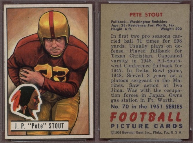 Image result for pete stout washington redskins