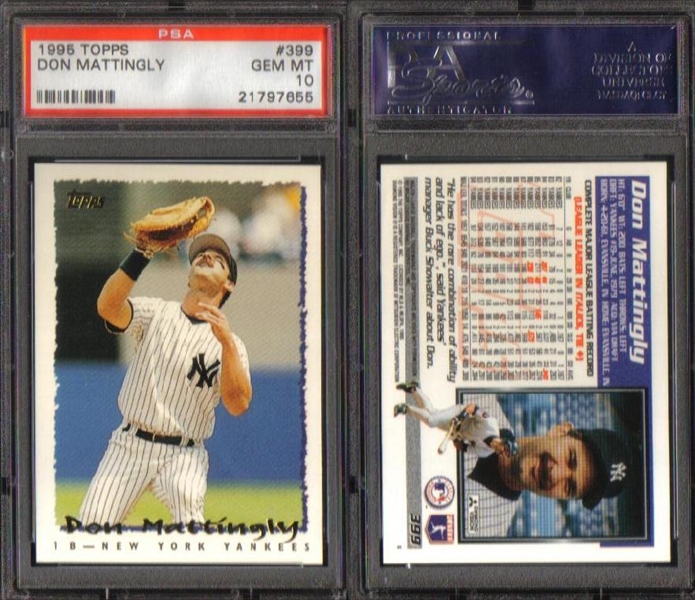 Baseball Don Mattingly Basic Topps Set Skrezyna23