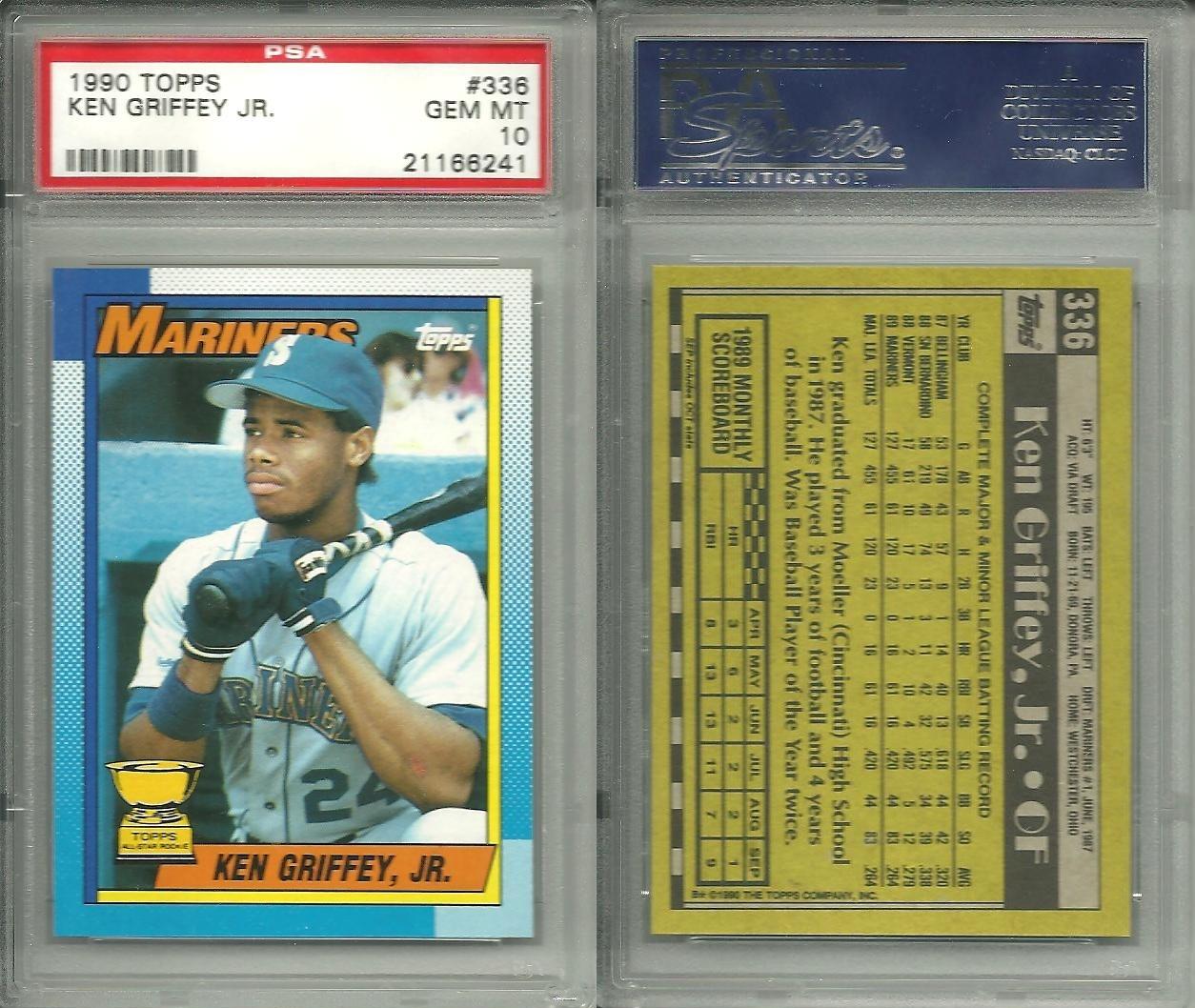 35175c3740 Baseball - Ken Griffey Jr. Basic Topps Set: Near Fantastic Set Image ...