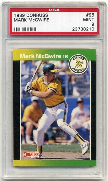 Baseball Mark Mcgwire Basic Set Published Set Sydneys Inheritance