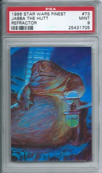 Non-Sports - 1996 Star Wars Finest Refractor: Sadist{PRC