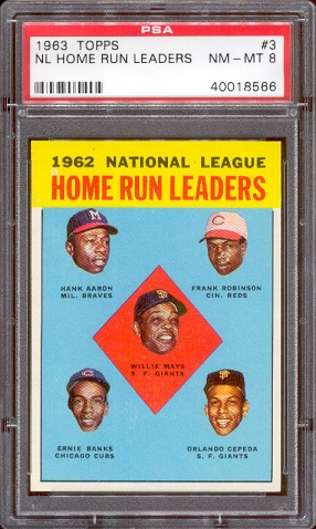 baseball 1963 topps san francisco giants all time set