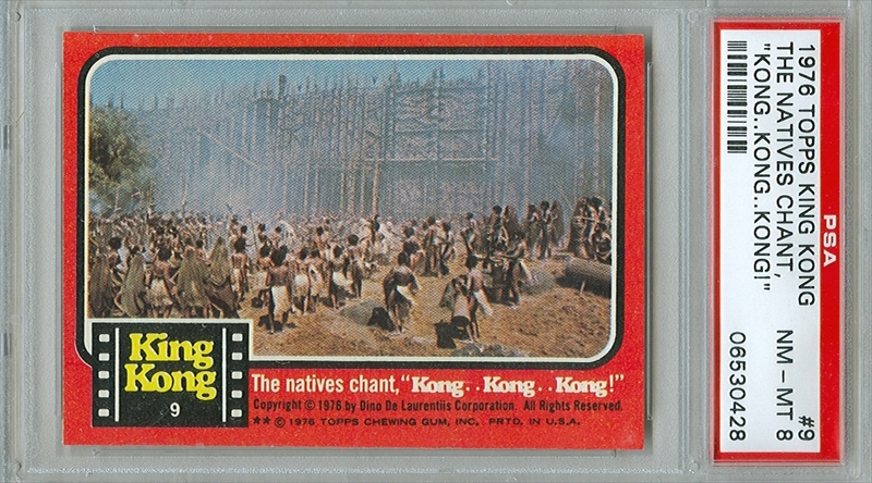 Paul Holstein's 1976 Topps King Kong Cards
