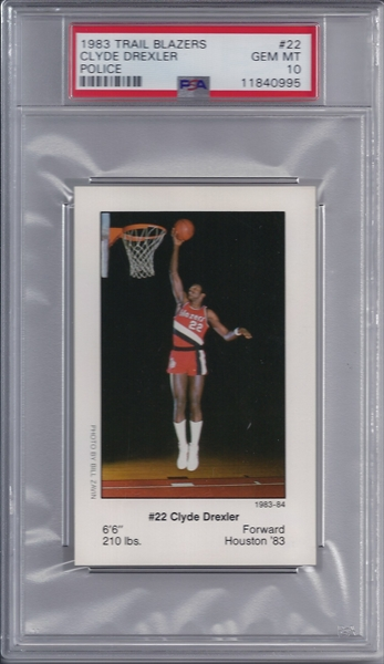 7d5b9c6d4 Basketball - Clyde Drexler Super Set  The Drexler Master Set Image ...
