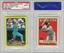 1988 TOPPS STICKERCARD RICKEY HENDERSON-51 MIKE SCHMIDT-125