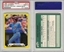 1987 CLASSIC TRAVEL UPDATE YELLOW-GREEN BACK MIKE SCHMIDT