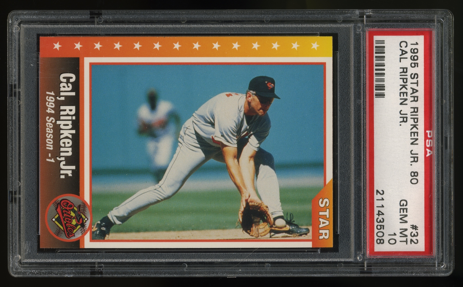 Baseball - 1995 Star Cal Ripken Jr  80: Edwin's 1995 Star