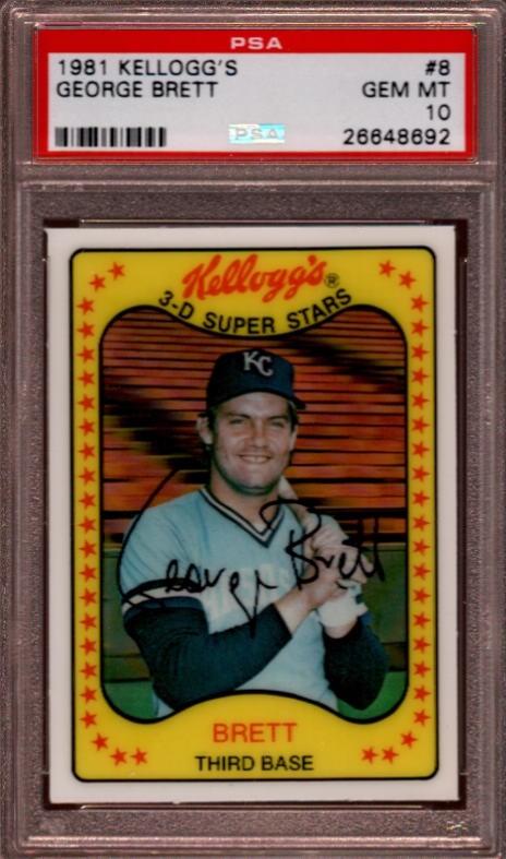 Baseball 1981 Kelloggs The Dean Collection Set Image Gallery