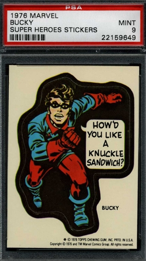 MARVEL SUPER HEROES 1976 TOPPS *PICK THE CARDS YOU NEED* **© VERSION G