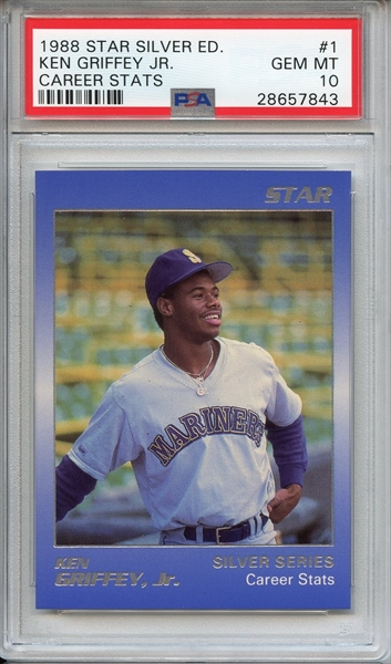 2248d3841d Baseball, Ken Griffey Jr. Master Set All Time Set: The Sehlke Collection