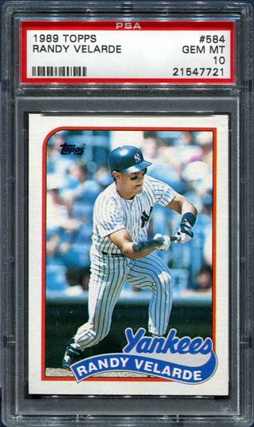 All Time Set Baseball 1989 Topps New York Yankees Jayz