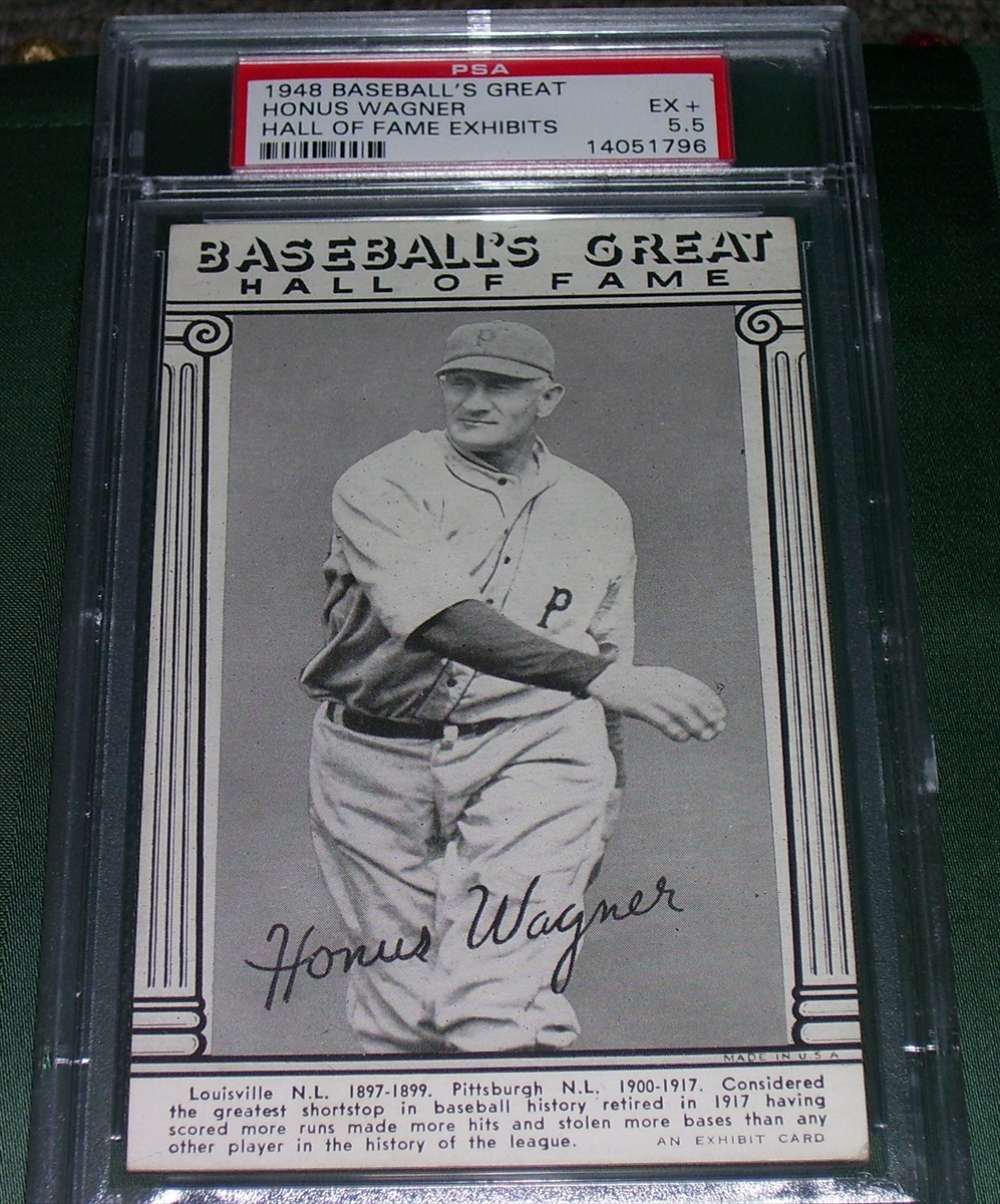 Baseball 1948 Baseballs Great Hall Of Fame Exhibits