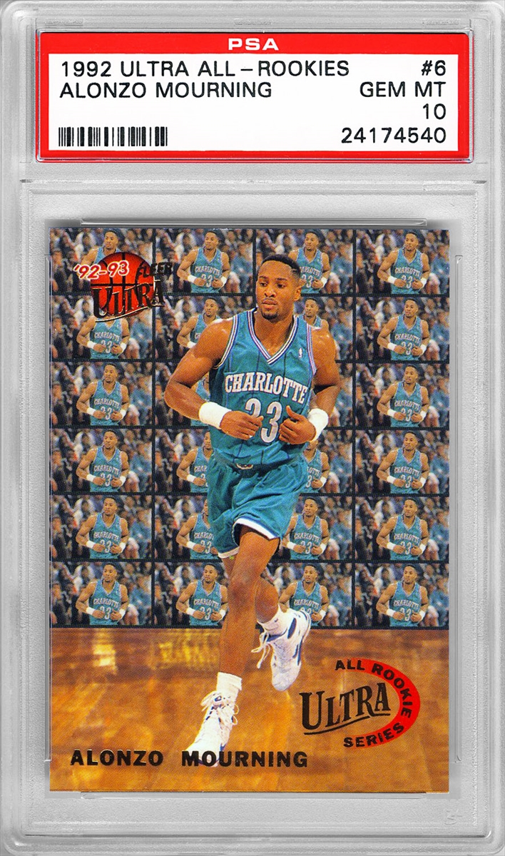 Basketball Alonzo Mourning Master Set Peltz22 Collection