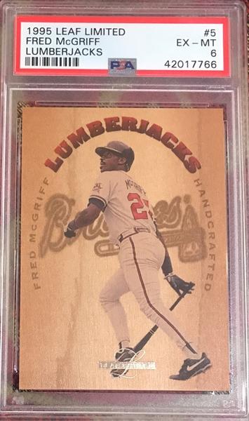 Baseball 1995 Leaf Limited Lumberjacks All Time Set Souper Cards