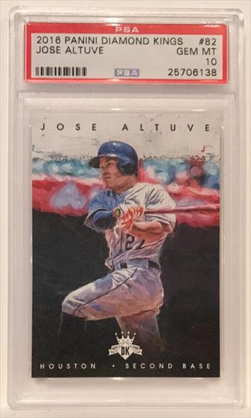 Verzamelkaarten: sport 2017 Panini Donruss Dominators Silver #D-4 Jose Altuve Houston Astros Card Verzamelkaarten, ruilkaarten