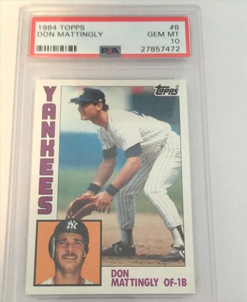 Published Set Baseball Don Mattingly Basic Topps Set