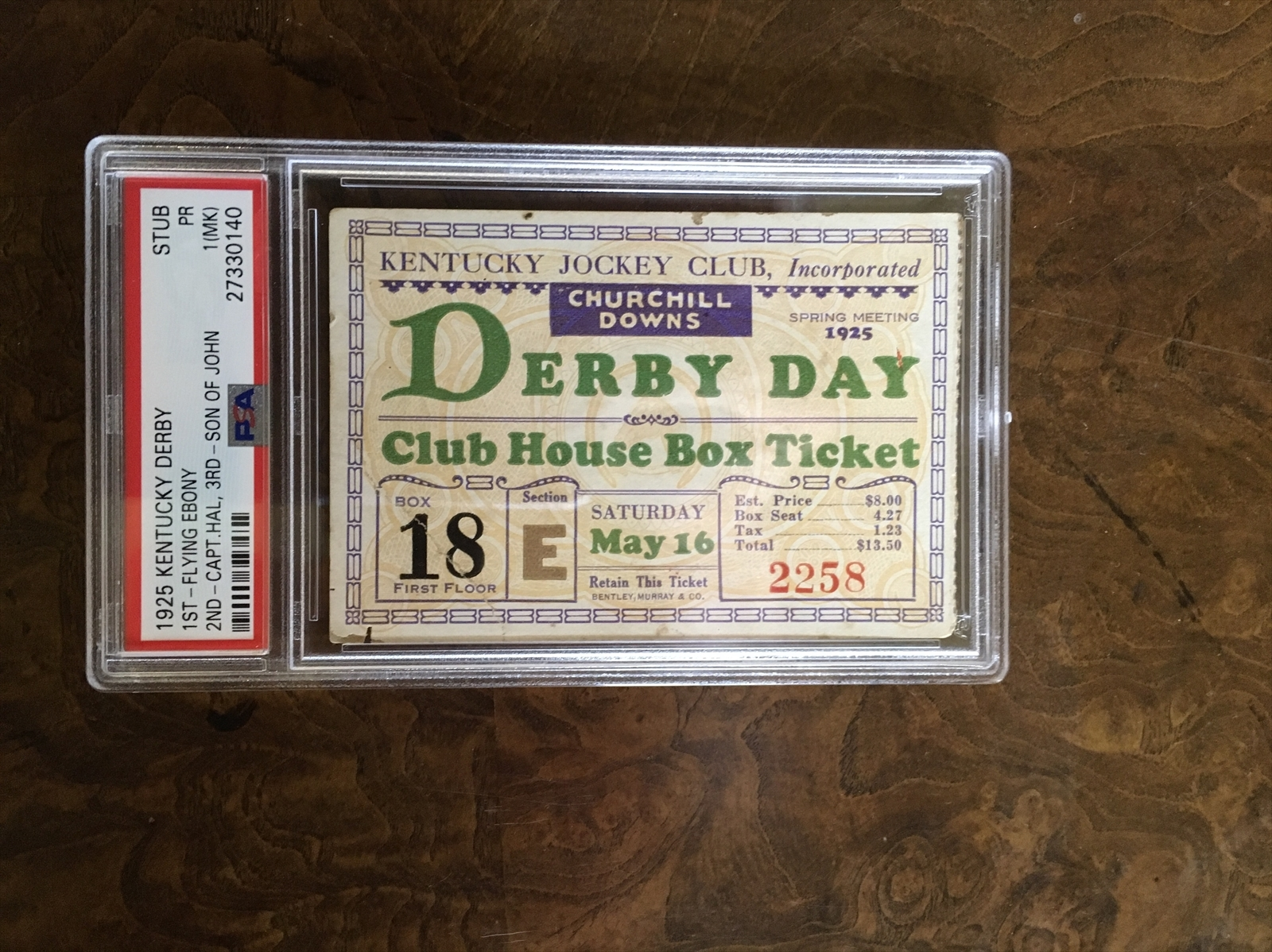 Tickets   Kentucky Derby 25 Present Wire to Wire Set Image ...