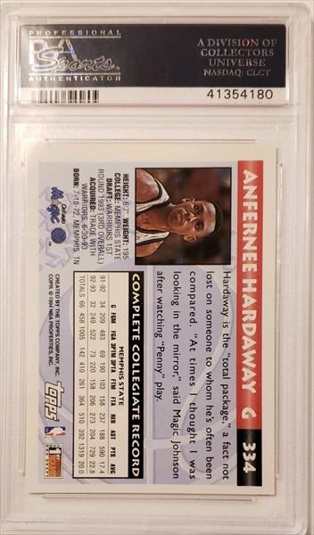 Basketball, Anfernee Hardaway Rookie Set Published Set