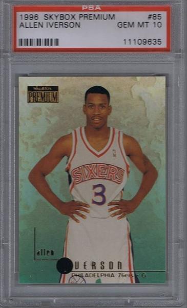98deff990b7 Basketball, Allen Iverson Rookie Set All Time Set: Marlon Clark's ...