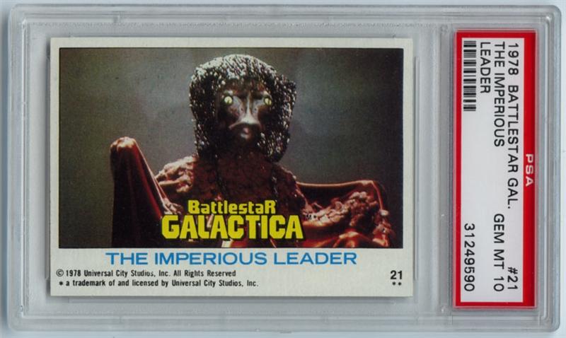 Imperious Trading Delf: Non-Sports 1978 Topps Battlestar Galactica: SW's BSG Cards