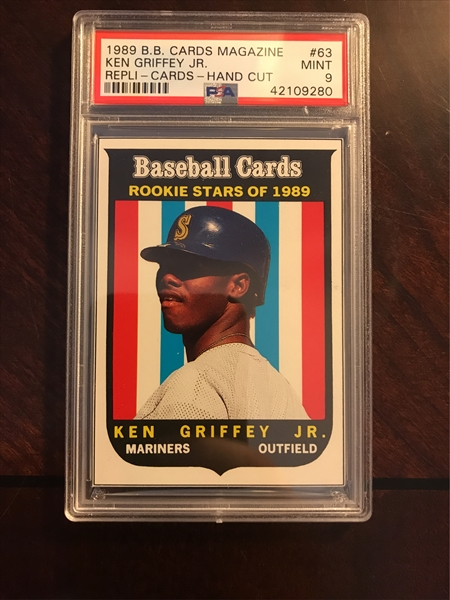 eb43957083 Baseball, Ken Griffey Jr. Master Set Published Set: Ken Griffey, Jr ...